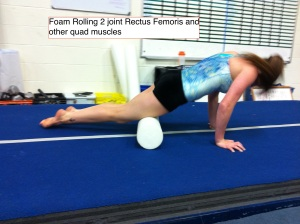 Foam Roller for Quads