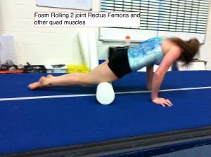 Foam Roller for Quads