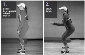 Athletic Stance and Squat Reference  http://www.healthyguts.net/wp-content/uploads/2011/12/back-squat-graphic.jpg