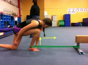 Dorsiflexion Mobilization with Band Assist Step 2