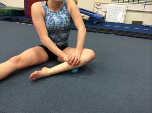 lateral Soleus soft tissue release with lacrosse ball