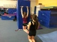 OH Double Arm Gibson Drill With Partner Hip Flex Resist End