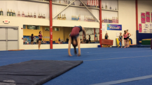 Overhead Impact/Reactive Based Stability in Tumbling