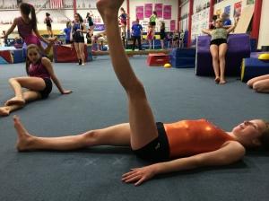 Active Straight Leg Raise Left Assessing Reflexive Core Stabilization While Lifting Leg