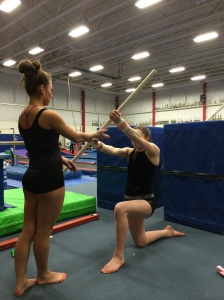 Diagonal Reflexive Stability Drill With Dowel - Upward and Downward Tapping