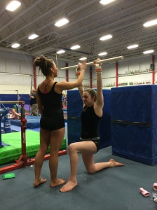 Overhead Reflexive Stability Drill With Dowel - Front Tapping