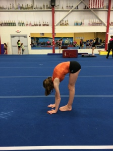 Post Test Pike Stretch Following Core Stability Drills